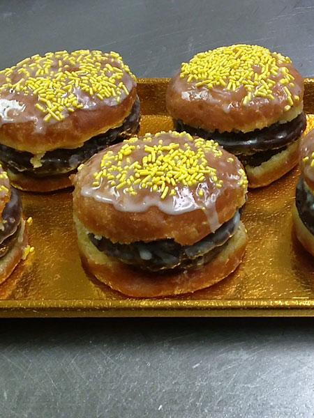 Burger-Donut